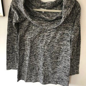 Boat Neck Long Sleeved Knit Top by Splendid NWT